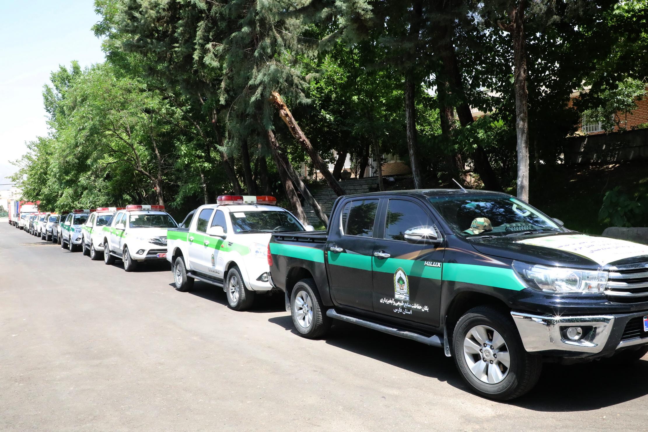 ارسال تجهیزات اطفای حریق جنگل ها به 24 استان 2