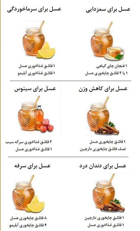 درمانی های عسلی
