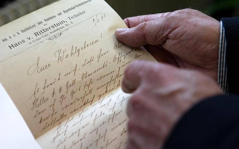 کشف نامه های هیتلر