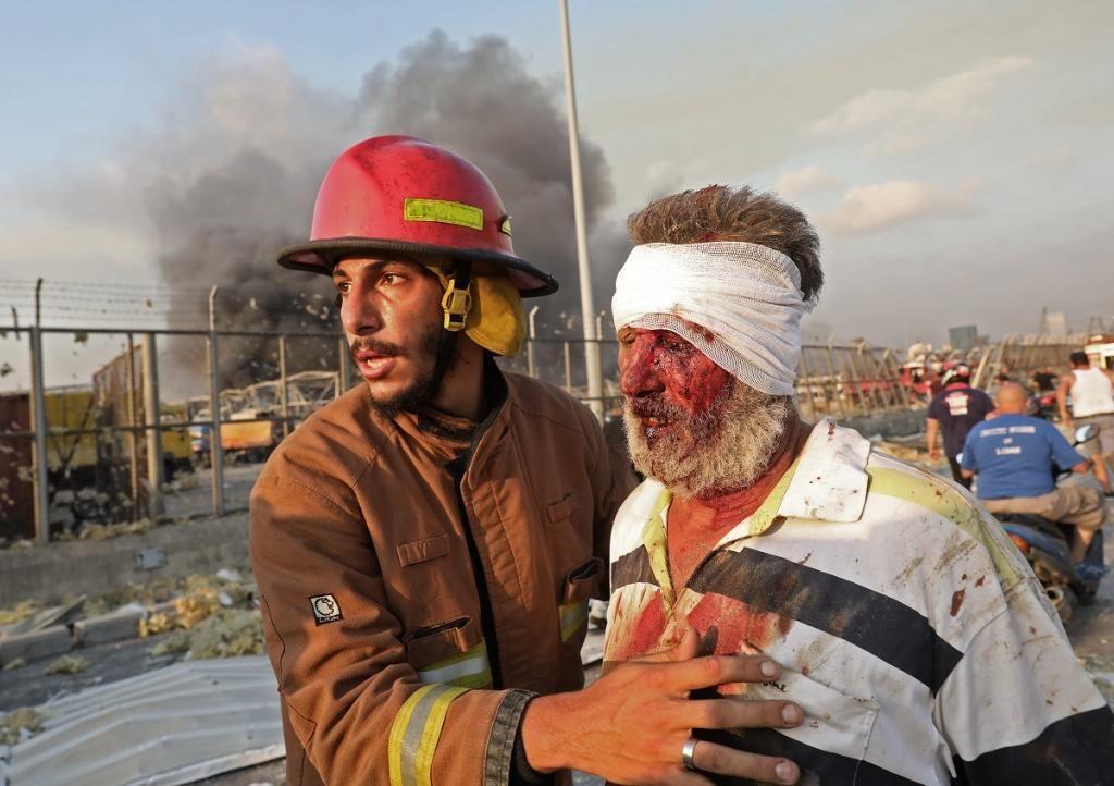 انفجار در بیروت 2