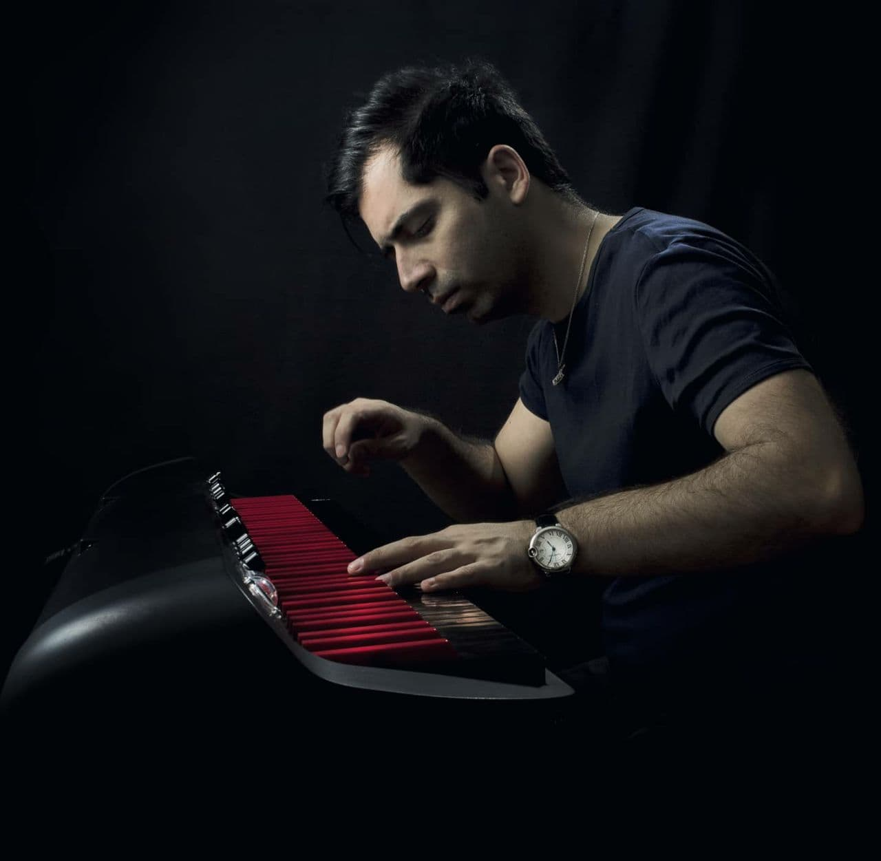 دانیال شهرتی پیانو نواختن