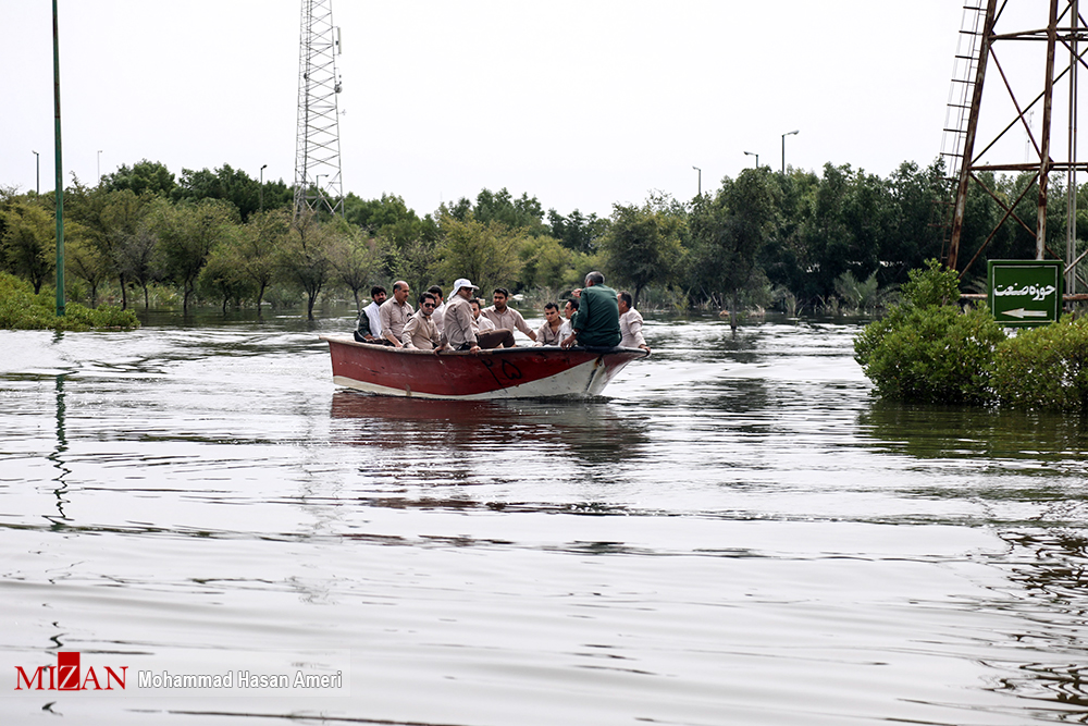 قطب نیشکر ایران زیر آب