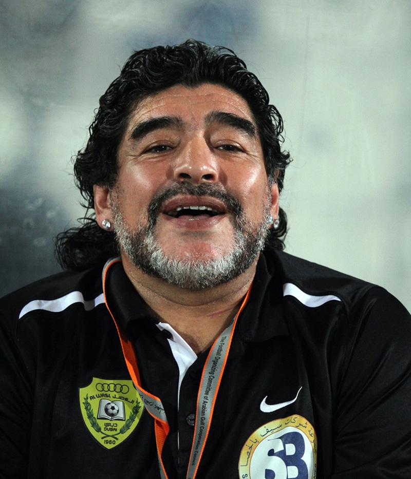 اعتیاد مارادونا به کوکائین