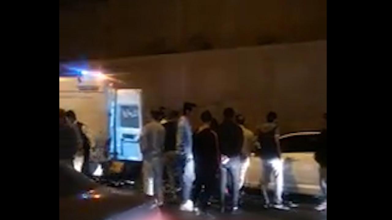 تصادف مرگبار با تماشاچیان یک سانحه رانندگی در کرج