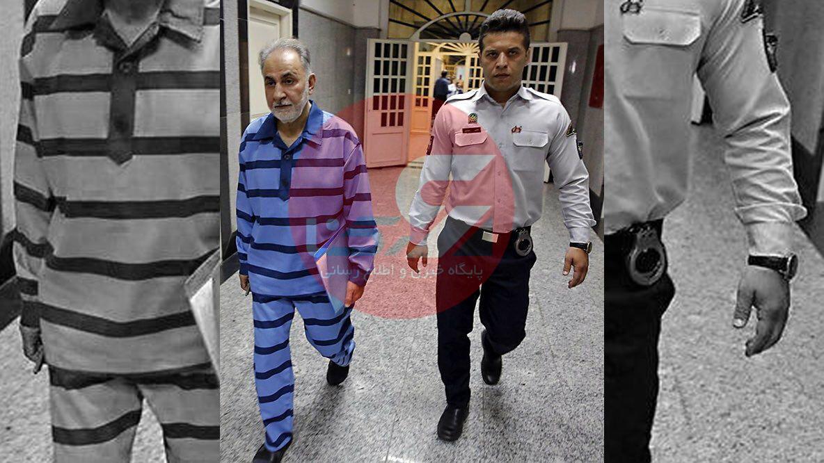 نجفی وارد دادگاه شد