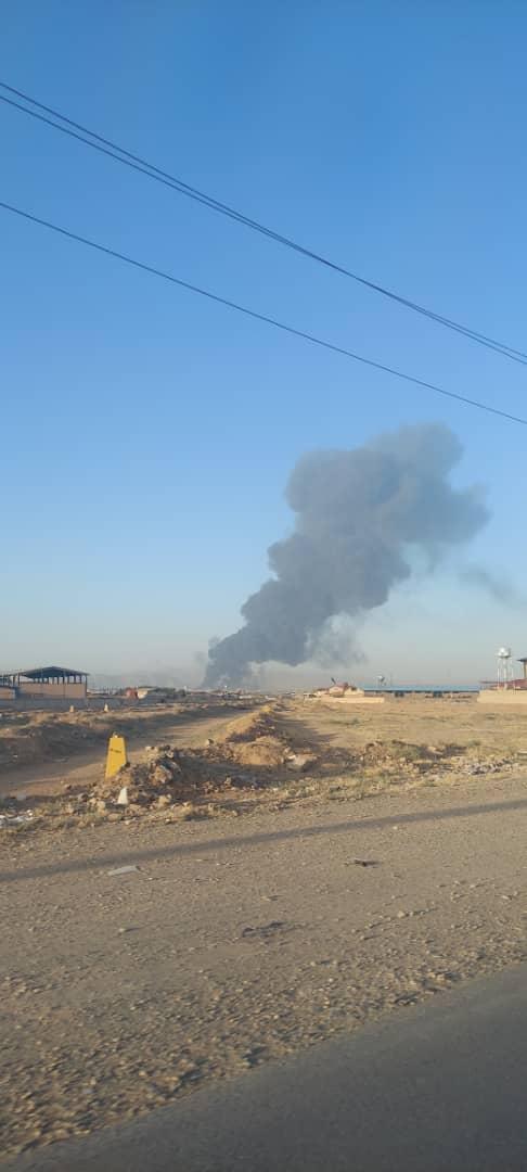 آتش سوزی پالایشگاه (10)