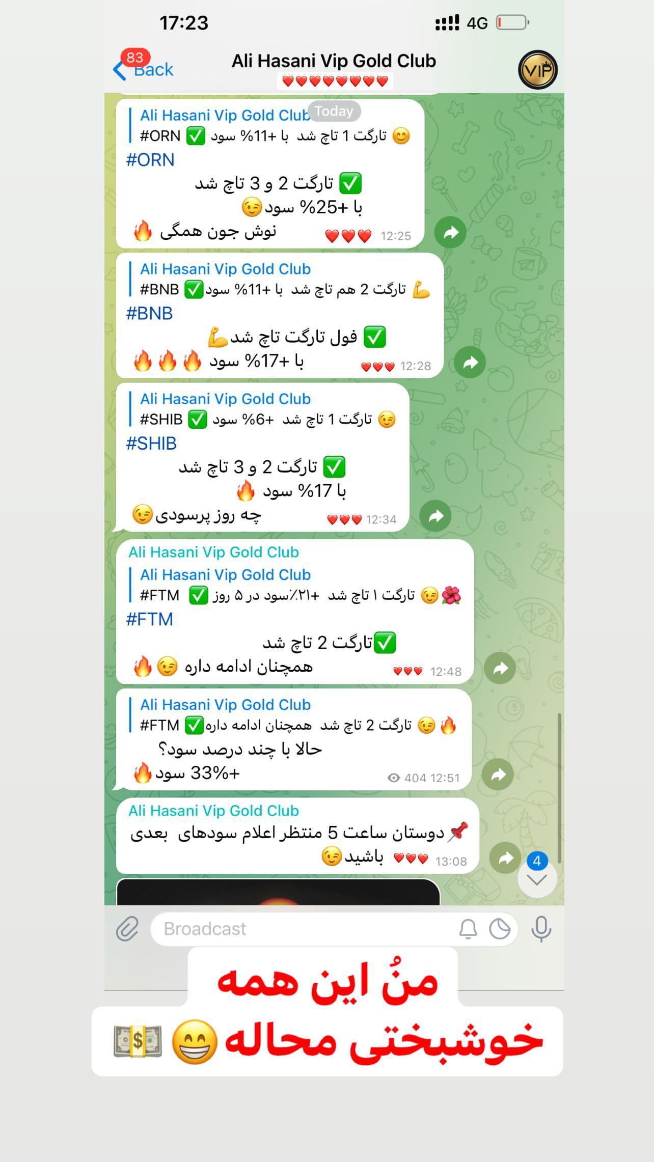 تلگرام سارا فرقانی