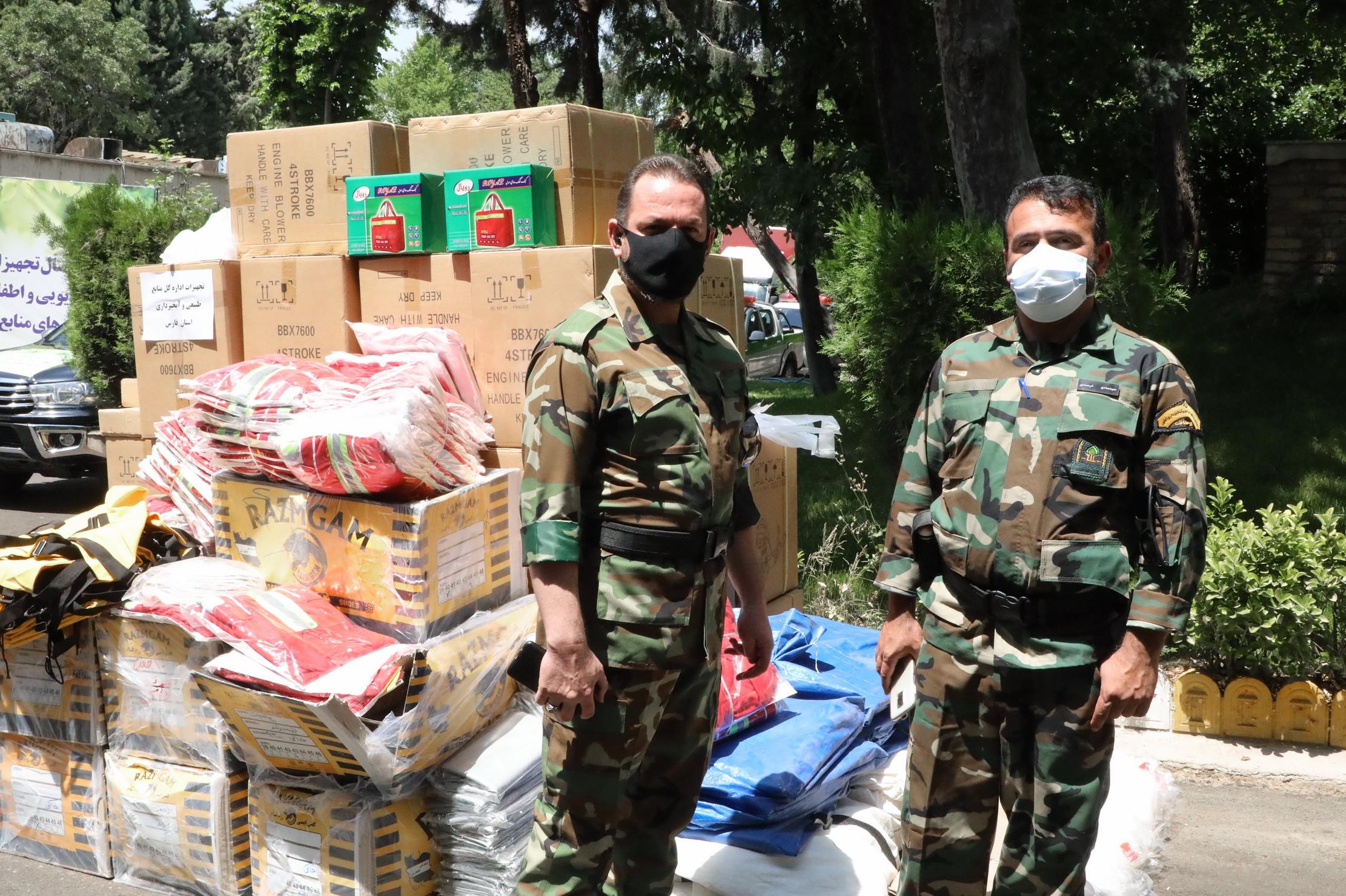 ارسال تجهیزات اطفای حریق جنگل ها به 24 استان 9