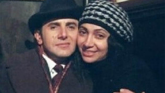 عکس لورفته و جنجالی از امین حیایی در آغوش همسرش + بیوگرافی و تصاویر جدید