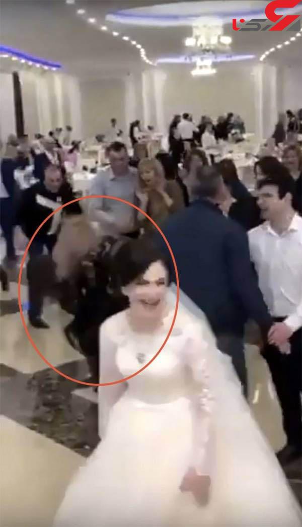 عکس درگیری شدید در مراسم عروسی (1)