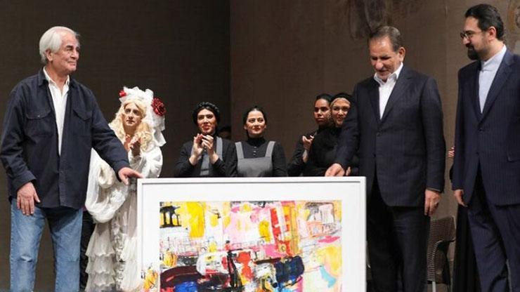 جشن تولد علی رفیعی با حضور اسحاق جهانگیری و هنرمندان سرشناس