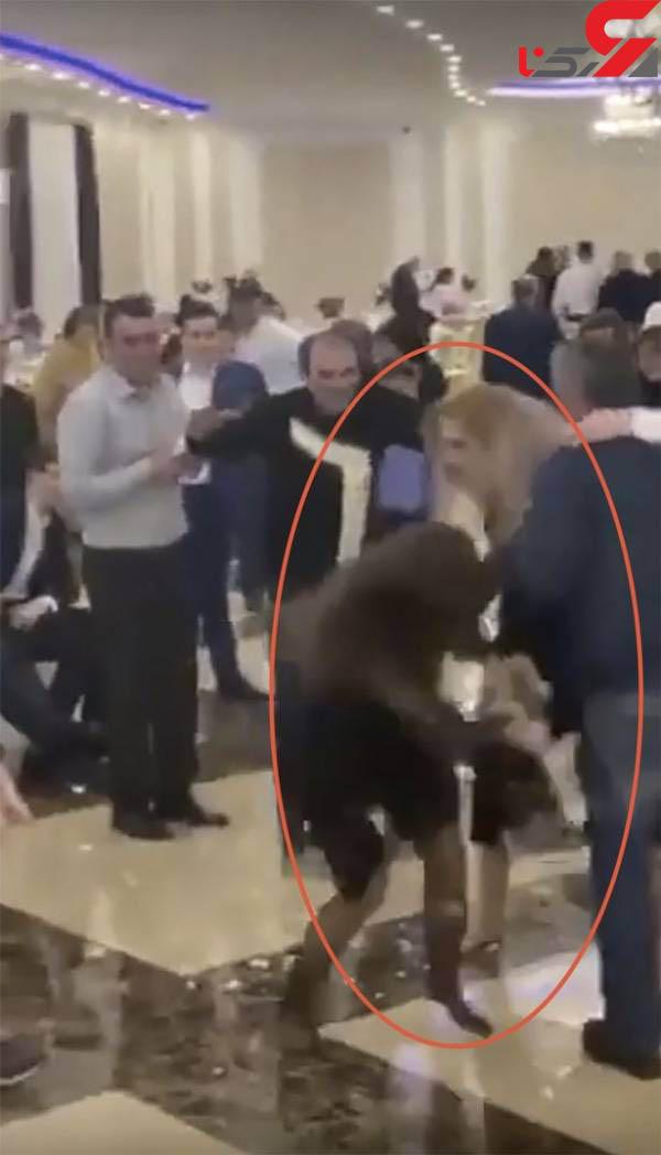 عکس درگیری شدید در مراسم عروسی (3)