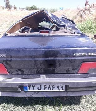 تصادف سنگین خودروی حمید بقایی