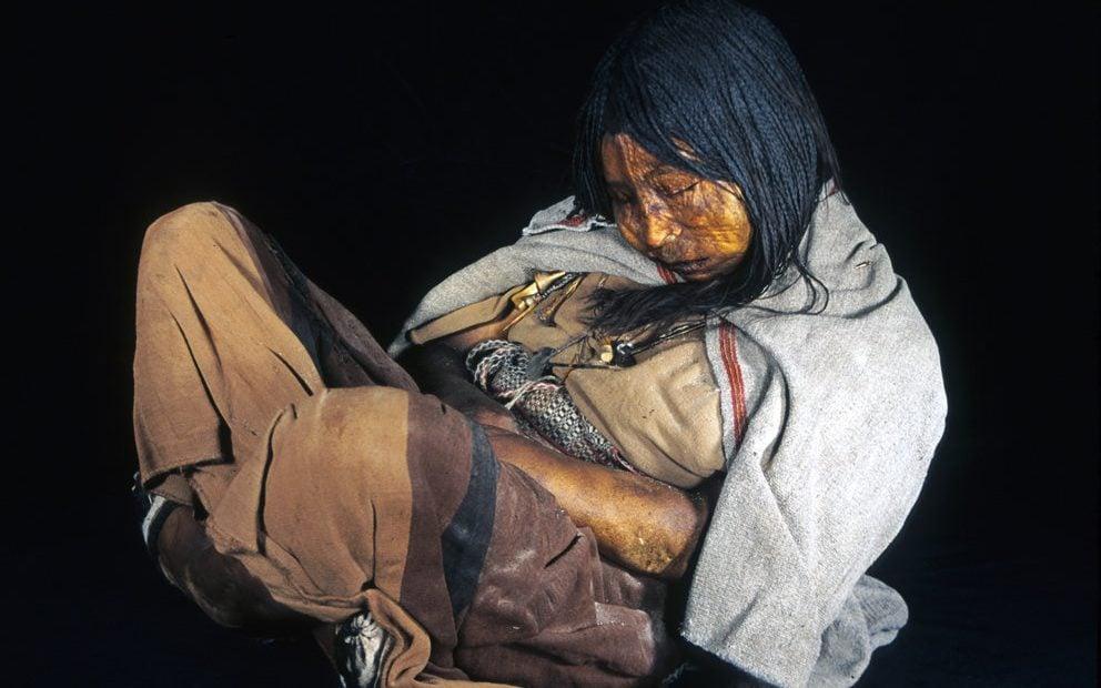 جسد سالم دختر ۵۰۰ ساله!
