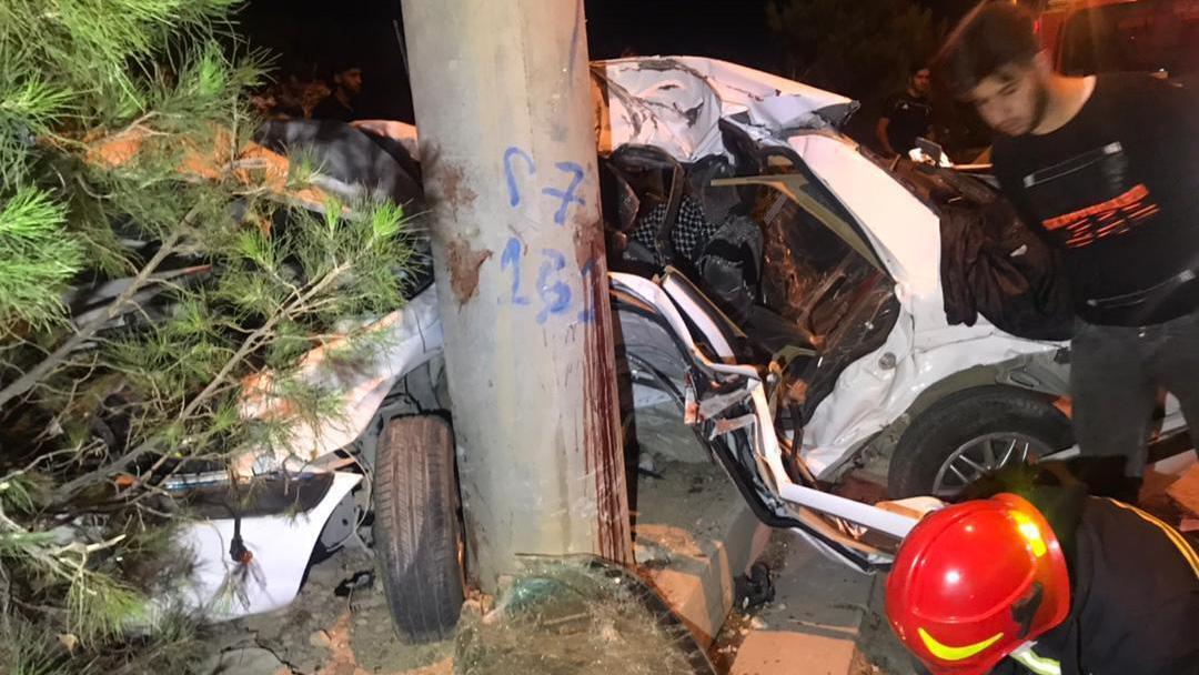 مرگ دلخراش سه نوجوان در سانحه رانندگی