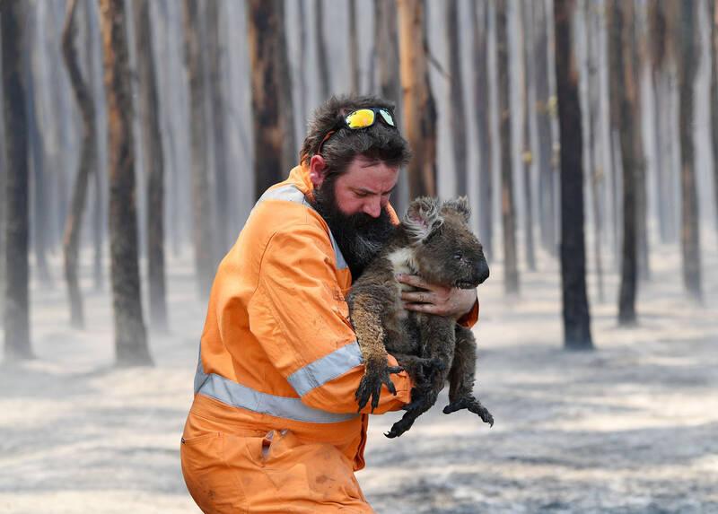آتش سوزی در استرالیاا