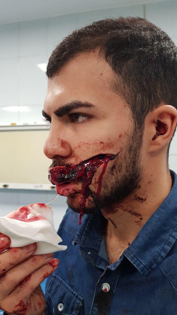 جوان تهرانی مردان ماسک دار