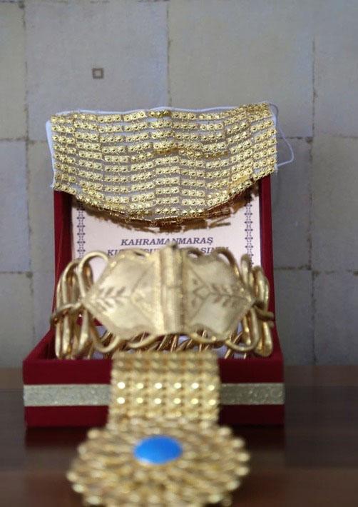 ماسک از طلا در ترکیه