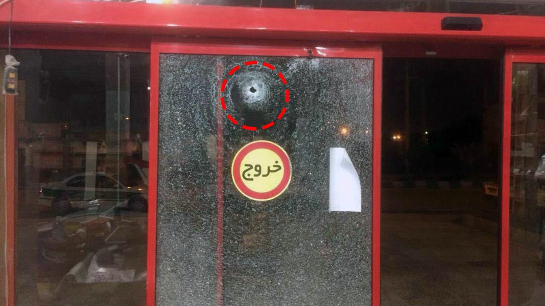 تیراندازی به فروشگاه افق کوروش آبادان