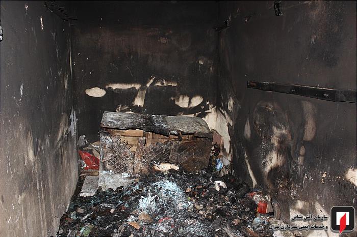 آتش سوزی در رسالت