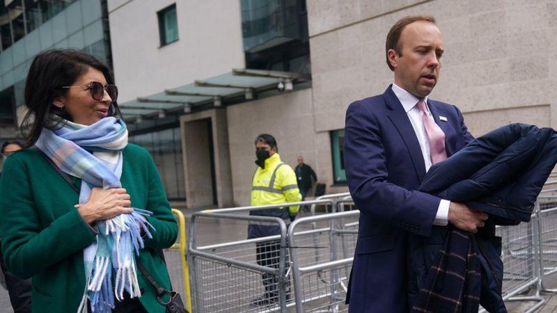 استعفای وزیربهداشت انگلیس