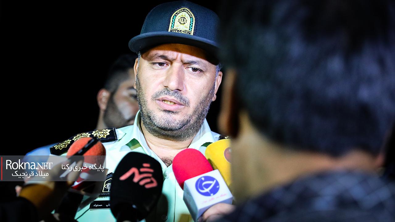 عملیات دستگیری سوداگران مرگ در جاده جاجرود