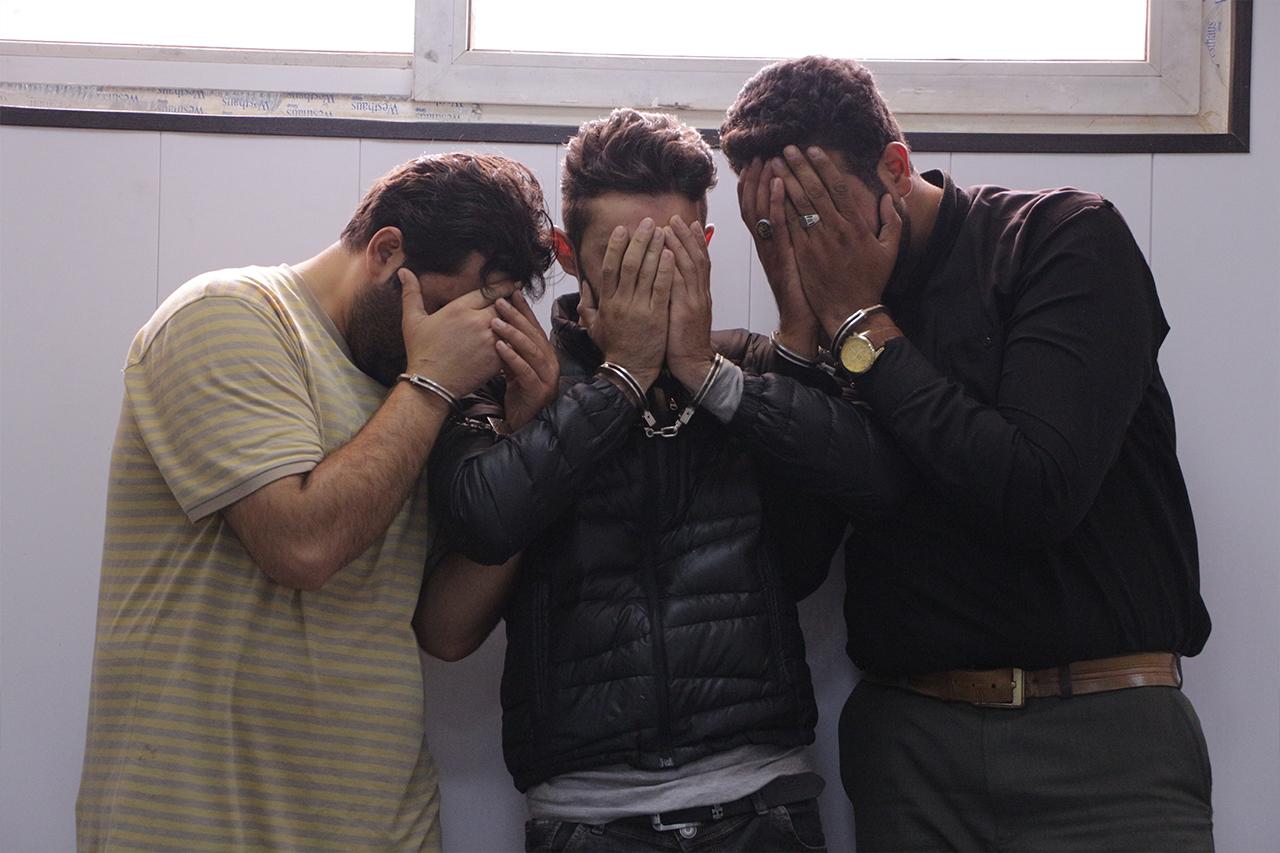 دستگیری مامور قلابی