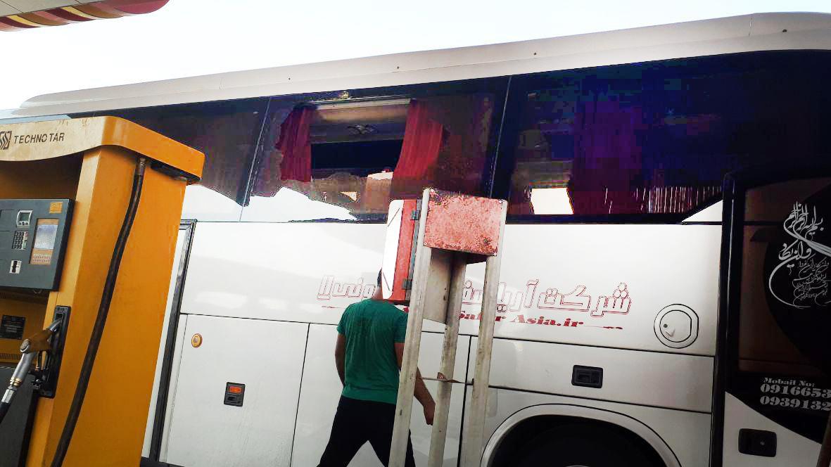 حمله اتوبوس