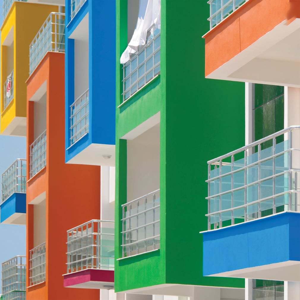 ساختمان رنگی 4