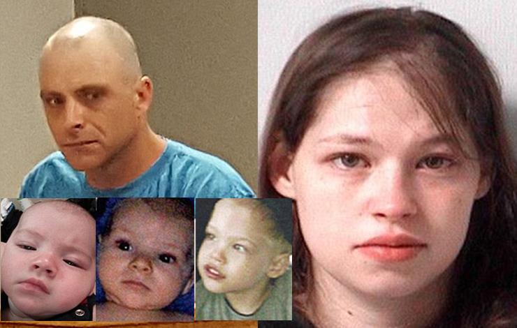 زن 24 ساله 3 فرزند نامَـشروع اش را خفه کرد+عکس سه کودک و زن و مرد دستگیر شده