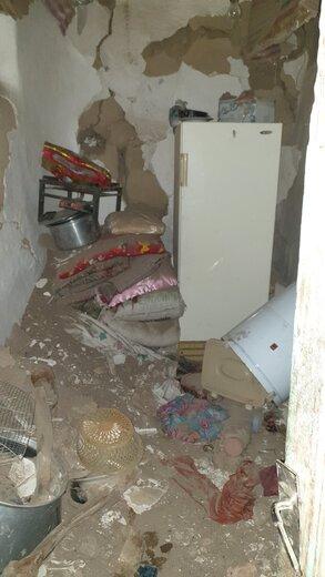 عکس زلزله میانه (2)
