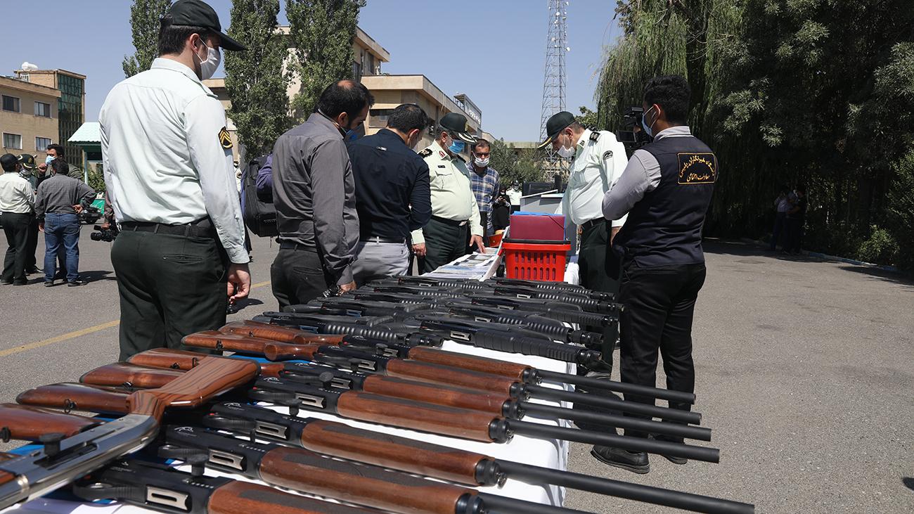انهدام باند قاچاقچیان اسلحه در کرج