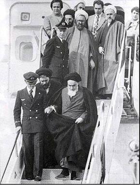 شهید مطهری در همراهان امام خمینی