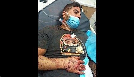 زخمی شدن یک ایرانی در انفجار بیروت