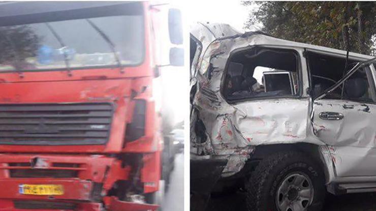 تاج الدین معاون پارلمانی نوربخش در تصادف کشته شد+ فیلم و عکس