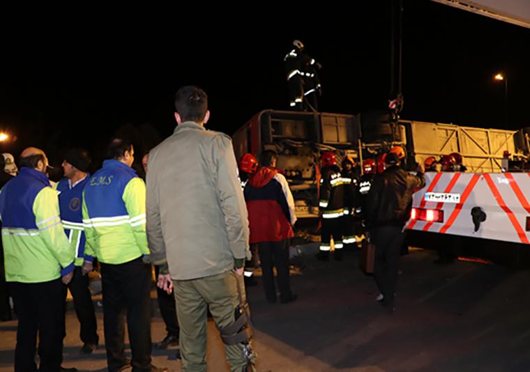 حادثه اتوبوس شیراز