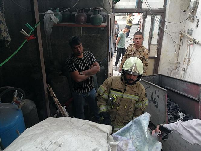 انفجار سیلندر گاز مایع در منزل مسکونی خسارت مالی بر جای گذاشت