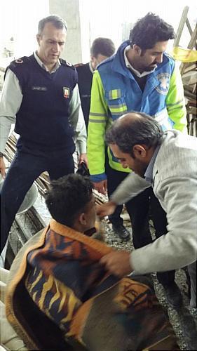 نجات معجزه آسای کارگر مقنی از عمق چاه
