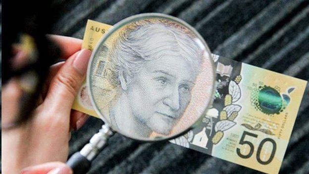 اشتباه تایپی روی اسکناسهای جدید ۵۰ دلاری در استرالیا