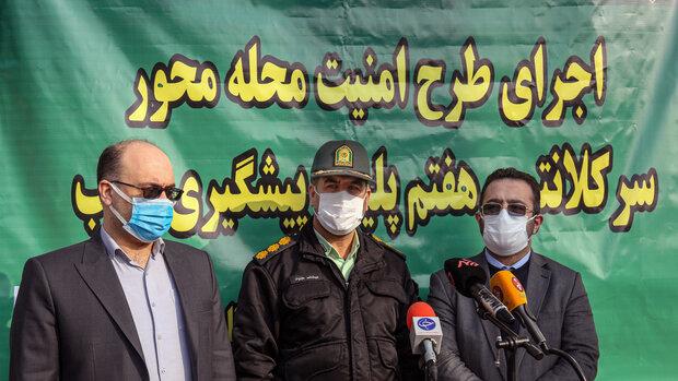 دستگیری متهمان در طرح امنیت محله محور در بازار تهران