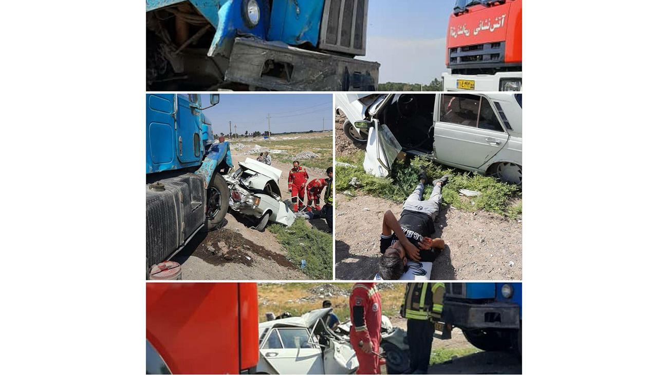 تصادف در باقرشهر
