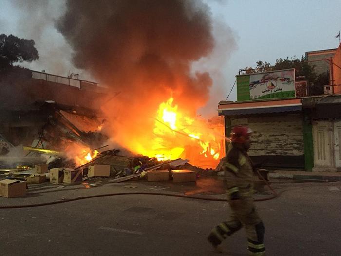 آتش سوزی صالح آباد غربی (4)