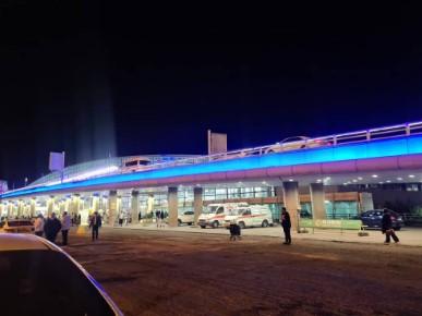 مرگ راننده در فرودگاه امام