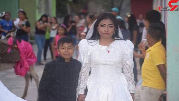 عکس جنجال ازدواج با پسربچه (2)