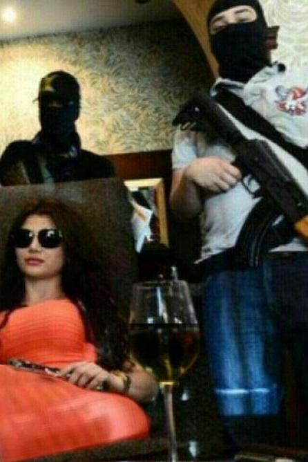 خطرناکترین زن جهان