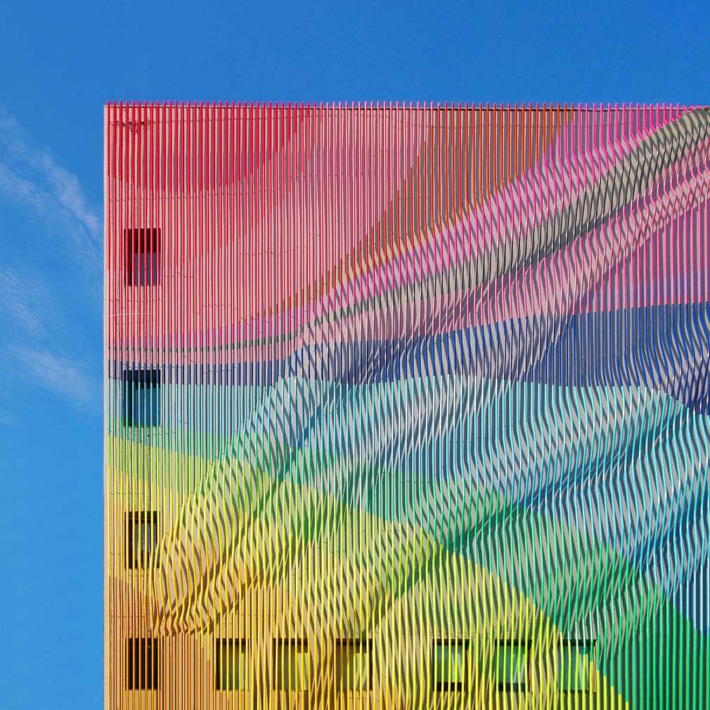 ساختمان رنگی 2
