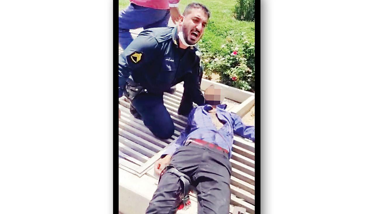 شلیک پلیس، گروگانگیر را زمینگیر کرد