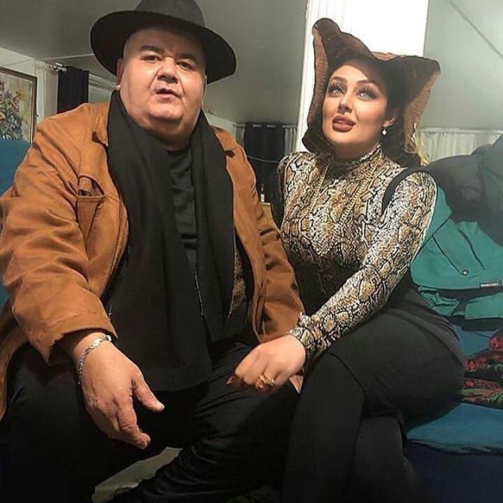 اکبر عبدی و غزاله میر