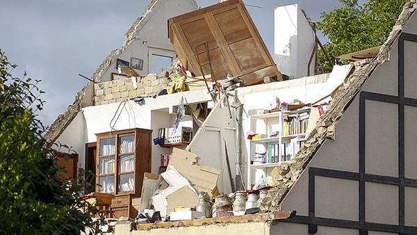 عکس توفان در آلمان (1)