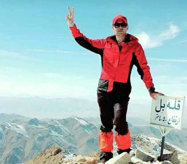 البرز زارعی کوهنورد فداکار سوخت